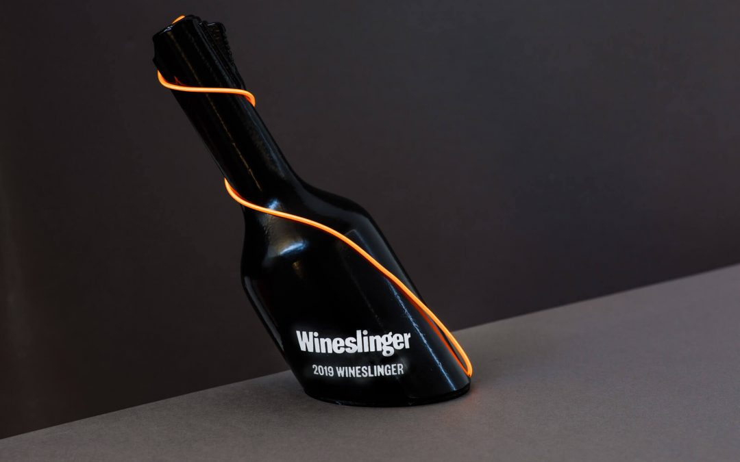 Winesinger award trophy