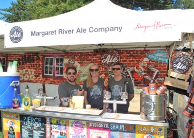 Margaret River Ale Company attending an event.